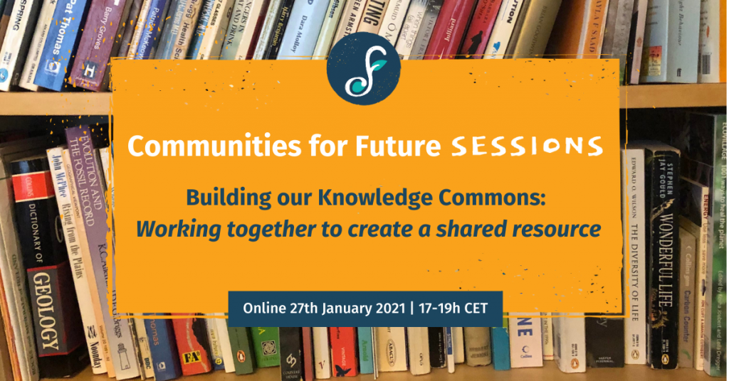 Building our Knowledge Commons: Working together to create a shared resource