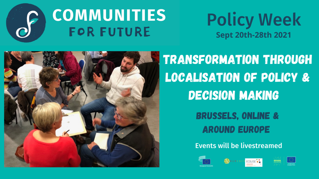 Communities for Future Policy week