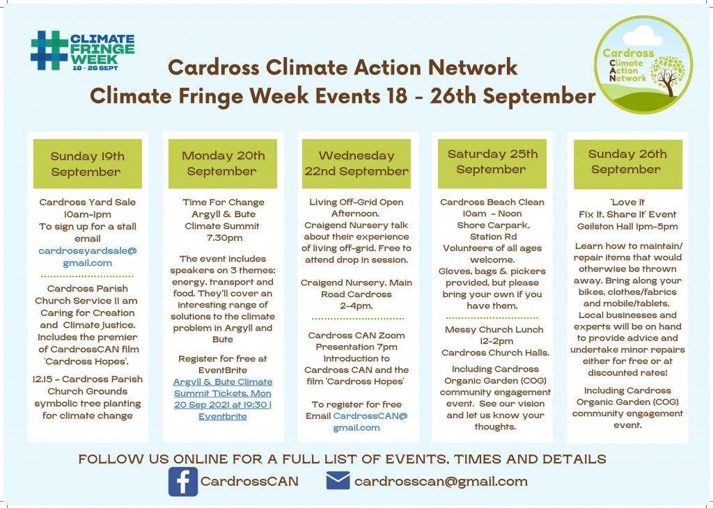 Cardross Climate Week