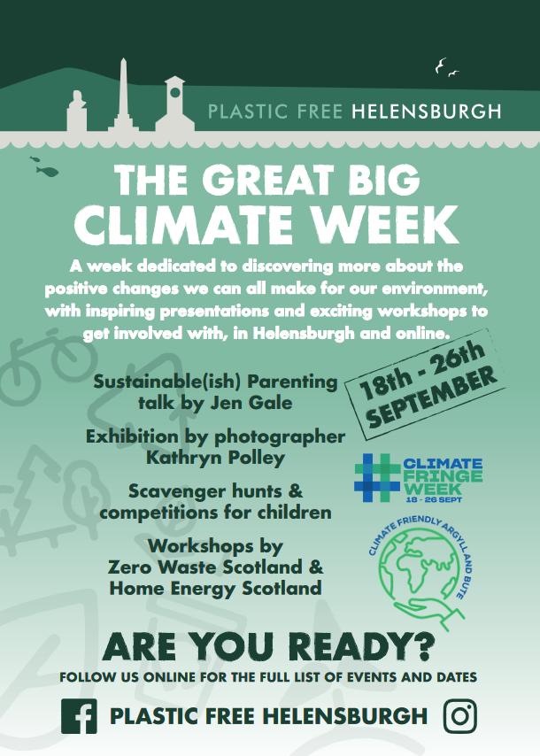 Great Big Climate Week – Plastic Free Helensburgh